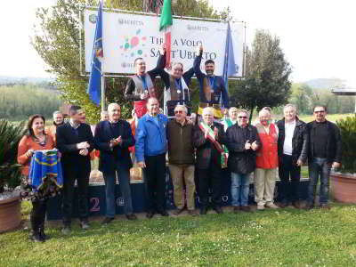 Podio 1° GP 1° CGT + Paraolimpica 2016 - T.A.V. Sant'Uberto