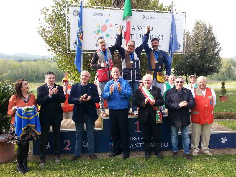 Podio 1° GP 1° CGT+ Paraolimpica 2016 T.A.V. Sant'Uberto 1
