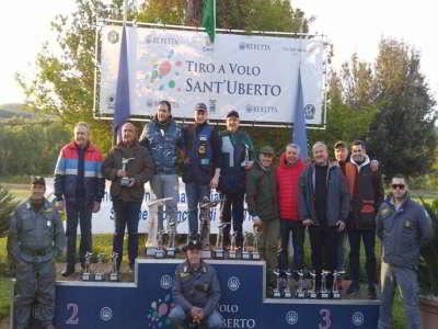 Podio EnalCaccia 2016 - T.A.V. Sant'Uberto