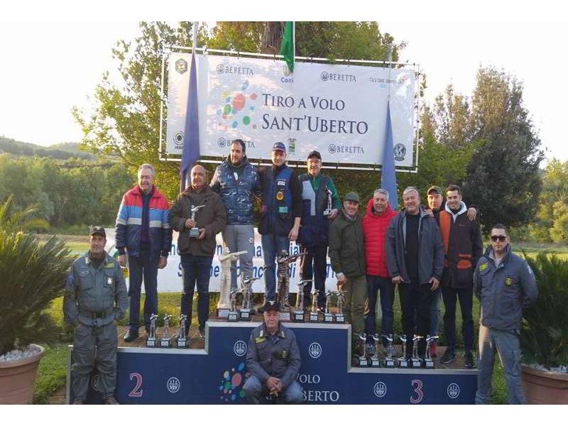 Podio EnalCaccia 2016 T.A.V. Sant'Uberto