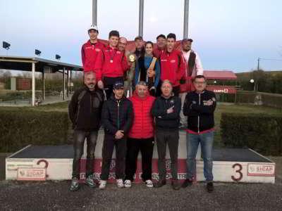 Tav S.Uberto 1a Classificata Campionato Regionale D'Inverno 2016 - T.A.V. Sant'Uberto