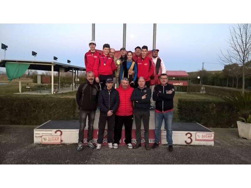 1a Classificata Campionato Regionale D'Inverno 2016 T.A.V. Sant'Uberto